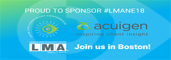 Sponsoring the 2018 LMA Northeast Conference